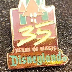 Disney Parks, Disney Land 35th Anniversary Pin